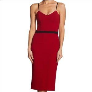 Dress the Population | Emma Crepe Midi Dress